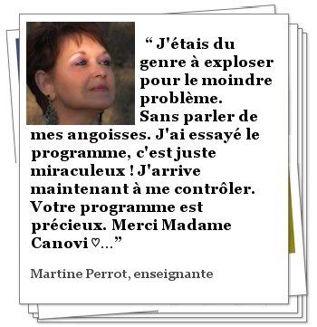 Témoignage de Martine PERROT